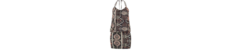 LASCANA Minikleid mit Holzringen an den Trägern Auslass Heißen Verkauf Tb8ipF