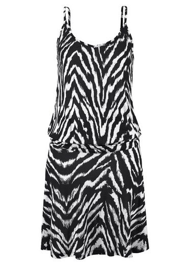 Beachtime Strandkleid mit Animalprint