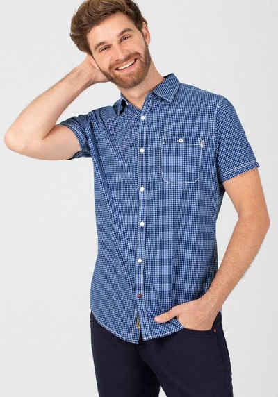 TIMEZONE Kurzarmhemd »Effect Check Shirt«