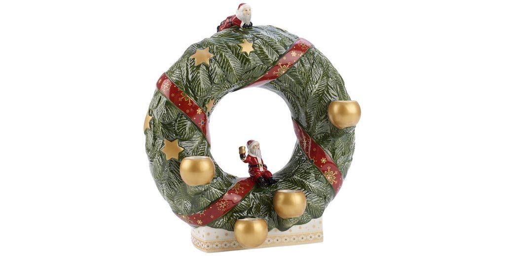 VILLEROY & BOCH Adventskranz stehend 26cm »Christmas Toys Memory«