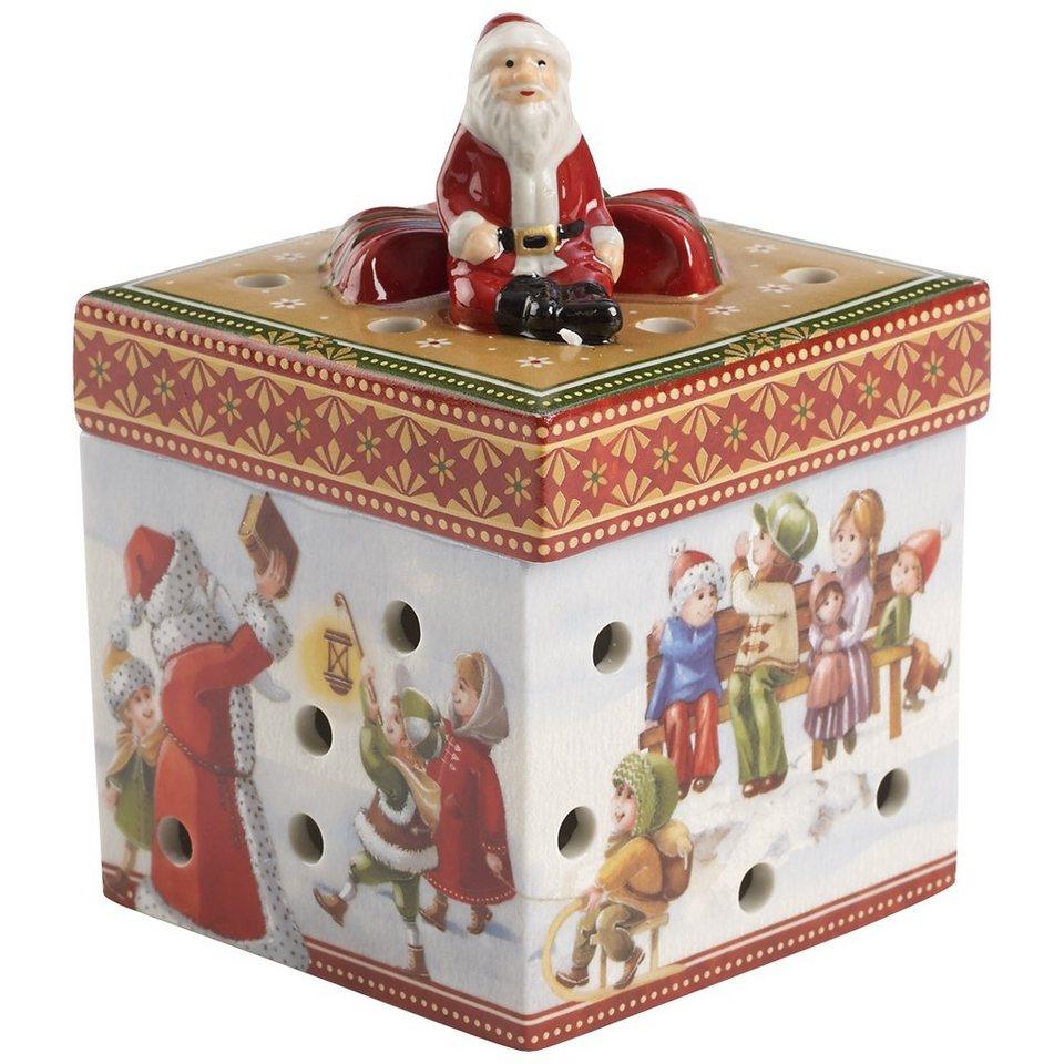 VILLEROY & BOCH Gechenkpaket klein eckig Spaziergan »Christmas Toys« in Dekoriert
