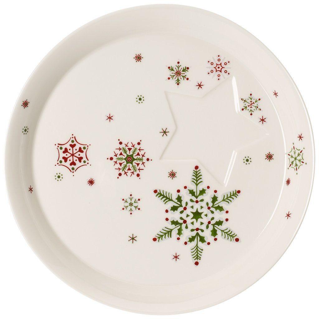 VILLEROY & BOCH Gebäckschale 22cm »NewModern Christmas«