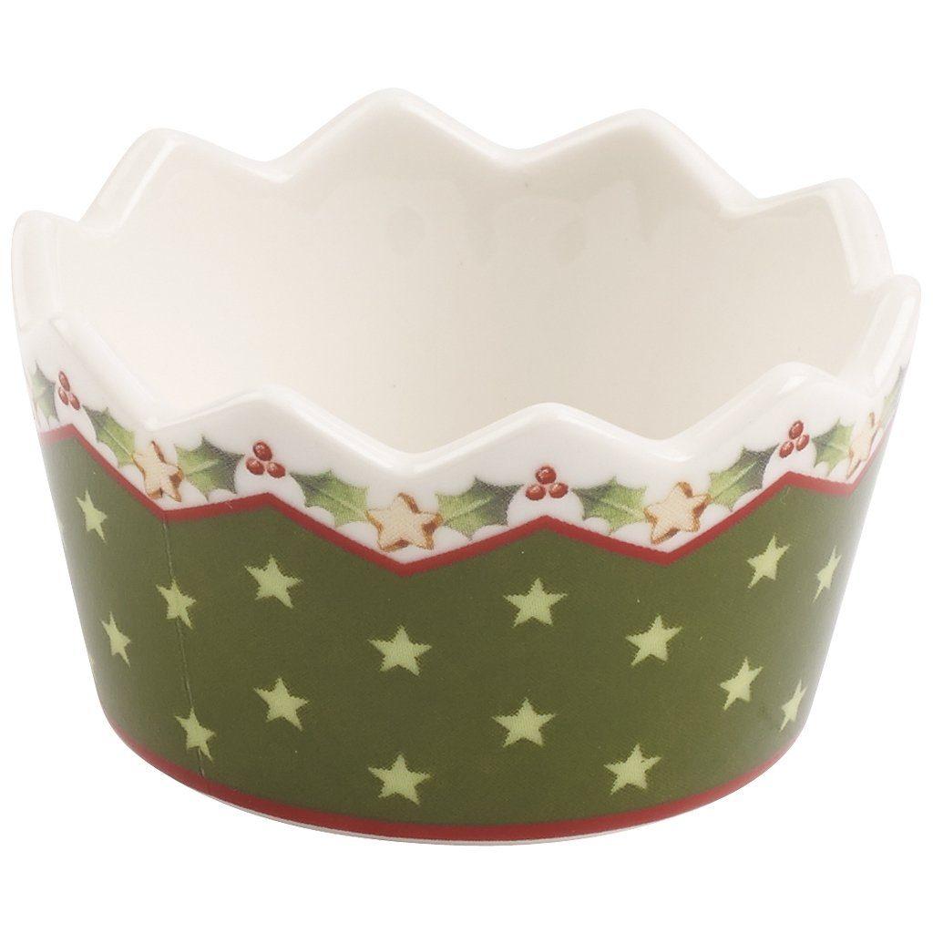 VILLEROY & BOCH Teelichthalter grün 3,5cm »Winter Bakery Decoration«
