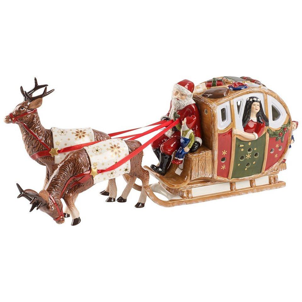 VILLEROY & BOCH Märchenschlitten 44x11x18cm »Christmas Toys« in Dekoriert