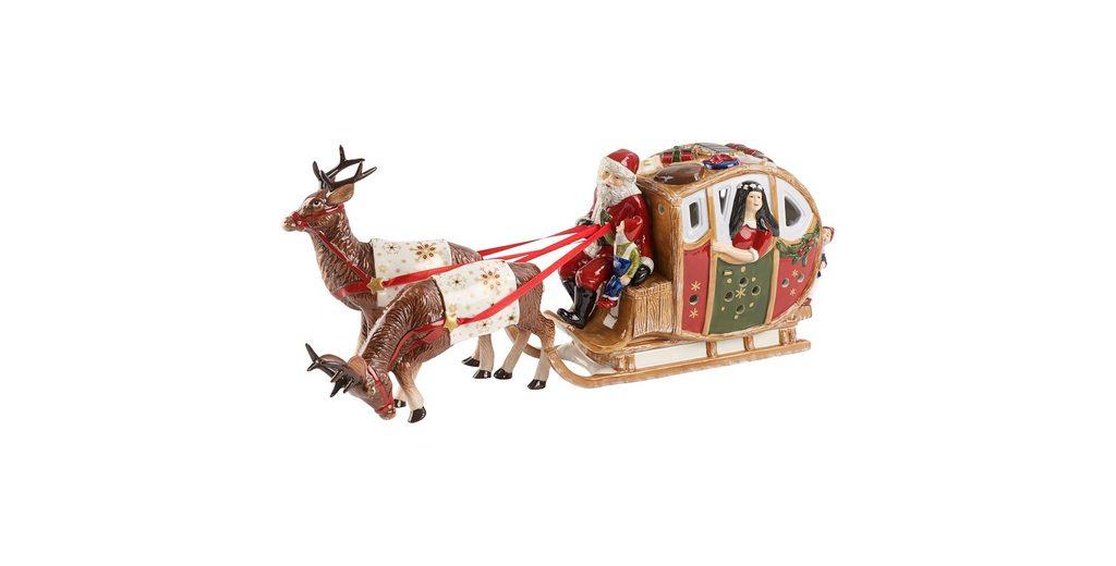 VILLEROY & BOCH Märchenschlitten 44x11x18cm »Christmas Toys«