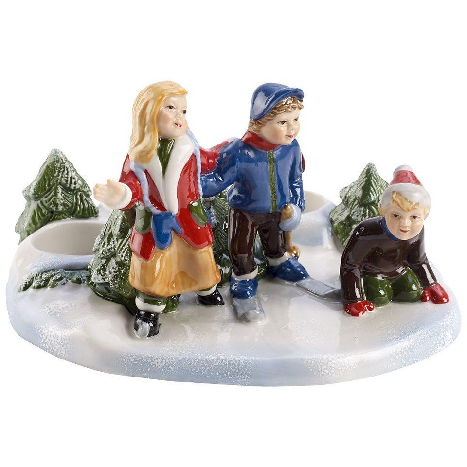 VILLEROY & BOCH Szene Eislaufen 21x17,5x11 »Christmas Toys« in Dekoriert