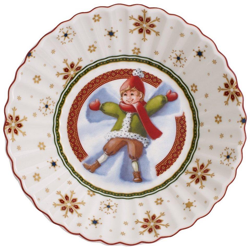 VILLEROY & BOCH Schale klein Schneeengel »Toy's Fantasy« in Dekoriert