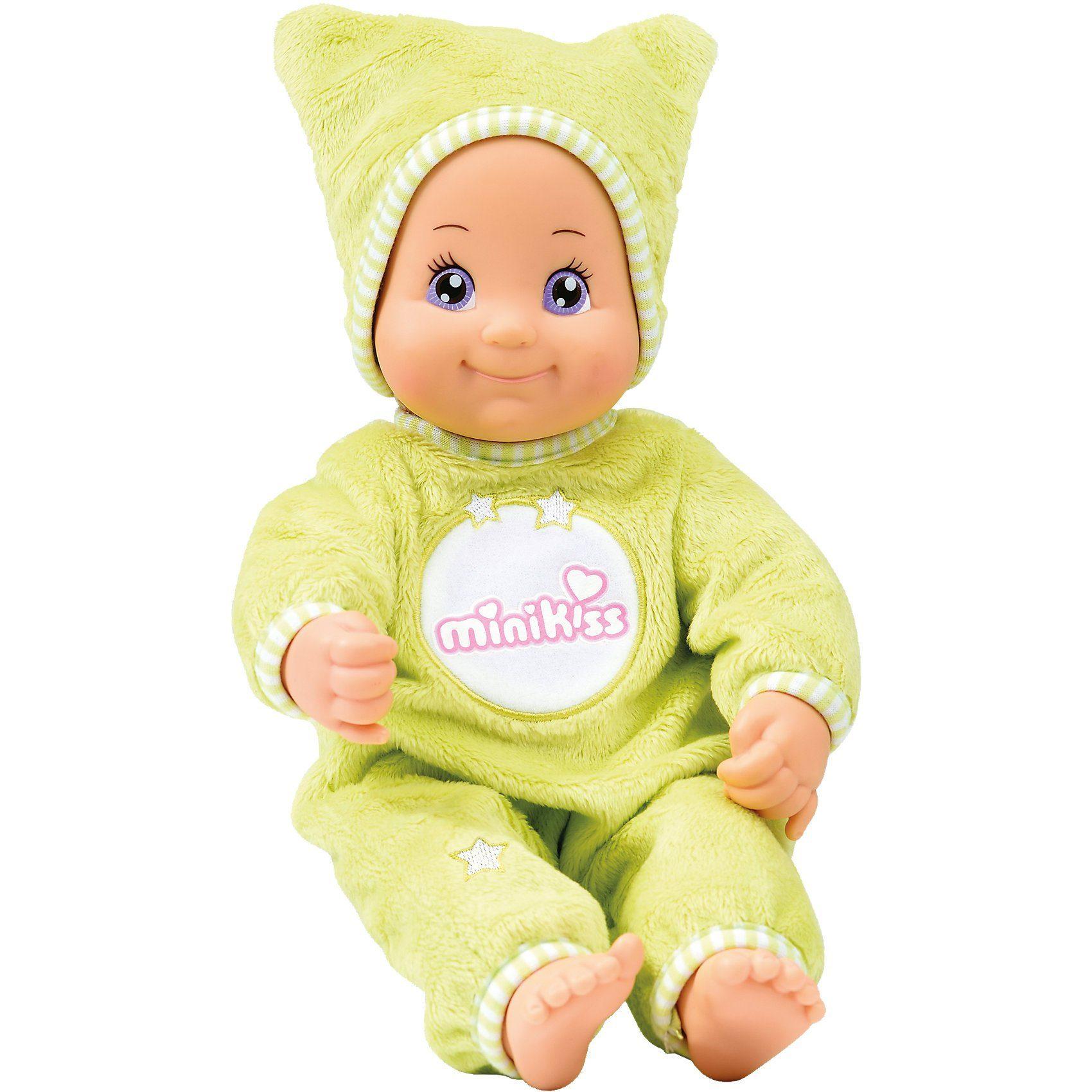 Smoby MiniKiss Dodo Babypuppe, 27 cm