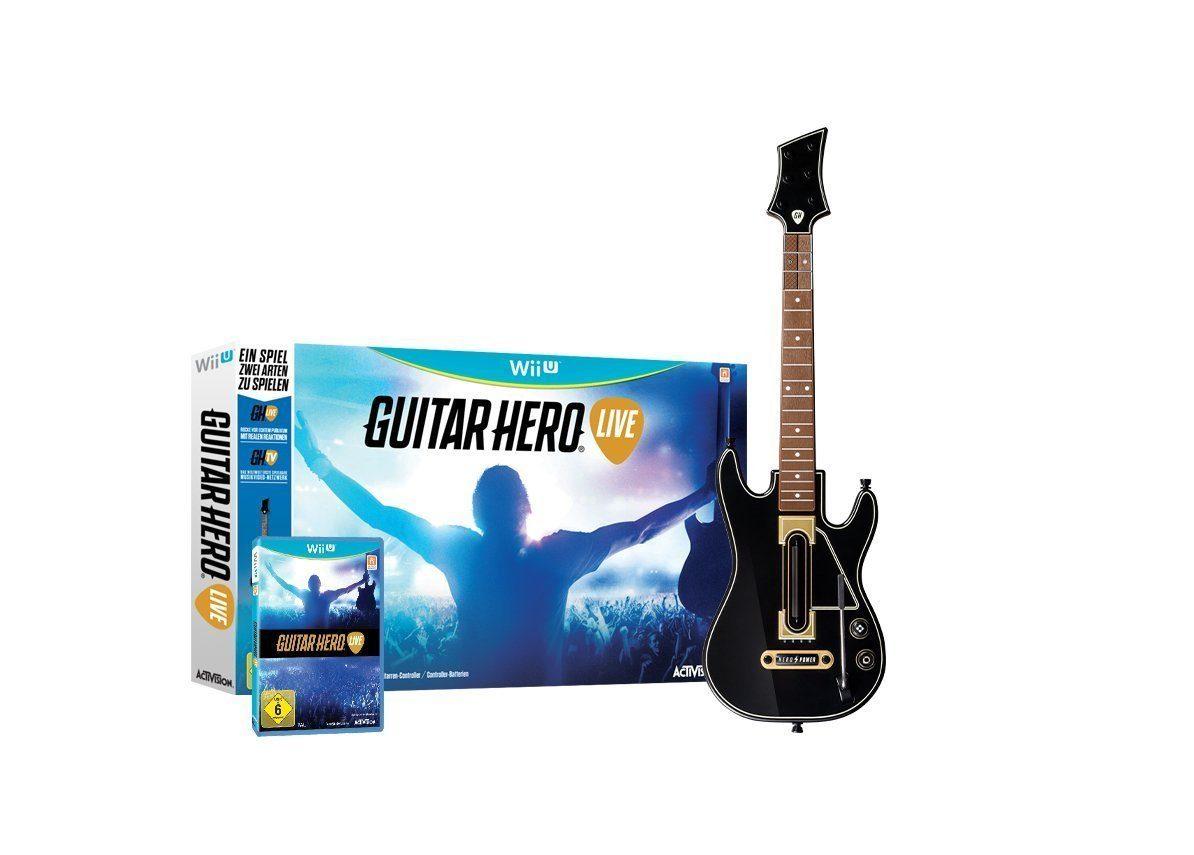 Activision Wii U - Spiel »Guitar Hero Live«