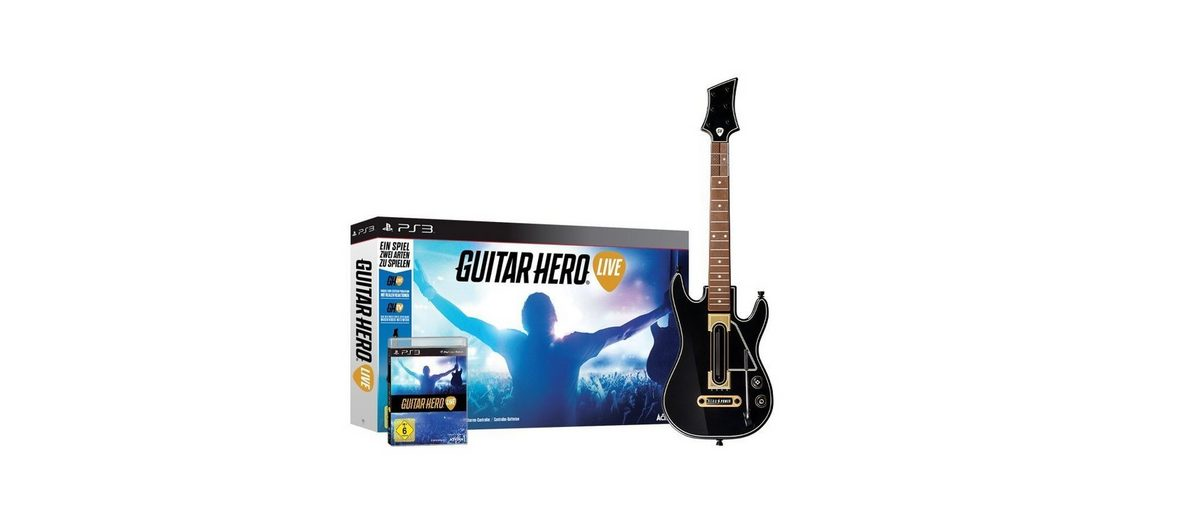 Activision Playstation 3 - Spiel »Guitar Hero Live«