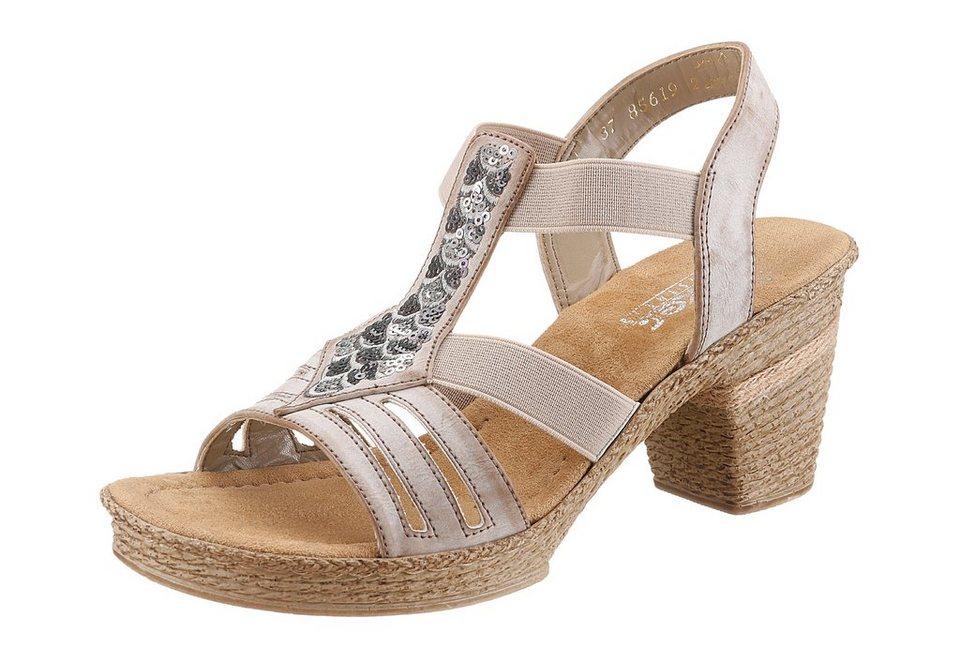 Rieker Sandalette in beige used