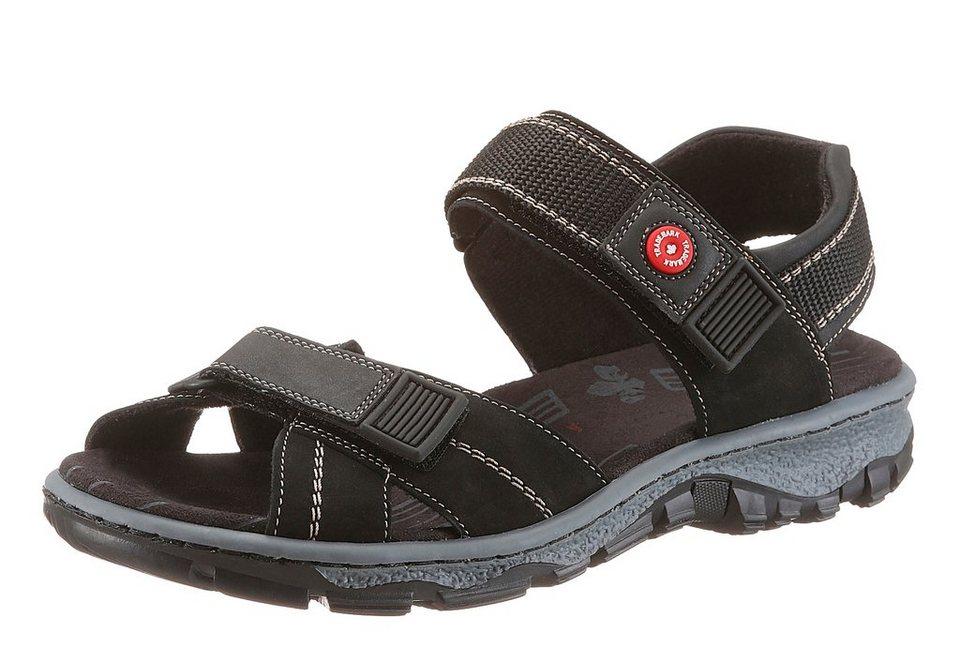 Rieker Sandale in schwarz