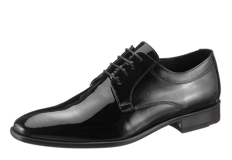LLOYD Schnürer »Freeman« aus Lackleder in schwarz