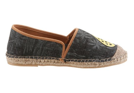 Arizona Espadrille mit Obstmotiv