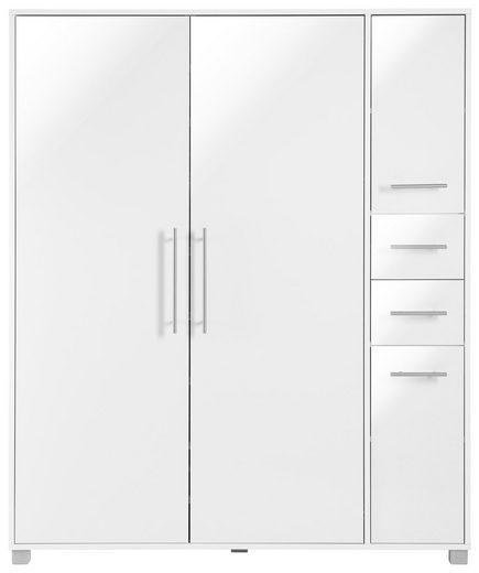 Schuhschrank, Schildmeyer »Pisa«, Breite 132 cm, mit Metallgriffen