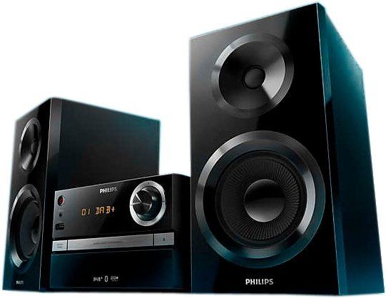 Philips BTB2370/12 Stereoanlage, Bluetooth, Digitalradio (DAB+), 1x USB