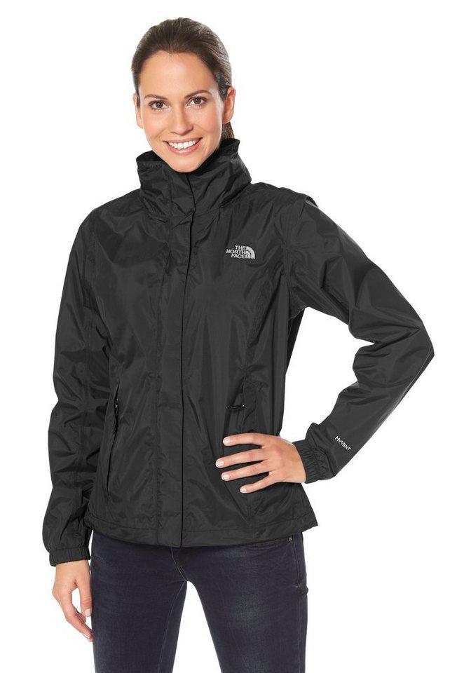The North Face Funktionsjacke »WOMEN RESOLVE« 100% Wetterschutz in schwarz