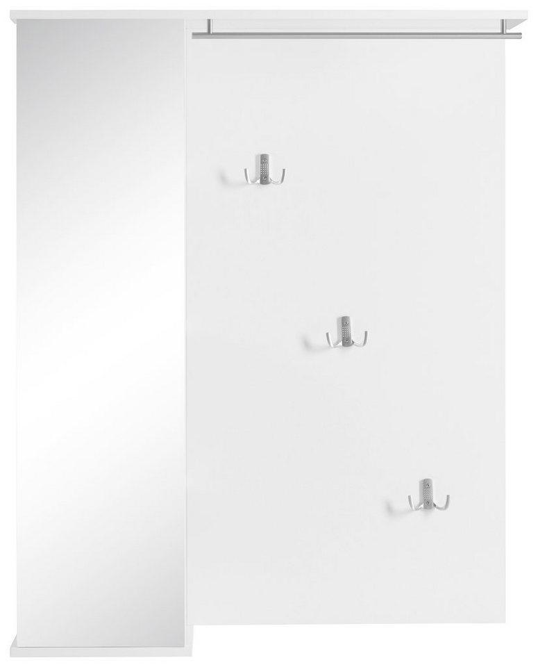 Garderobenpaneel, Schildmeyer, »Andria« in weiß glanz