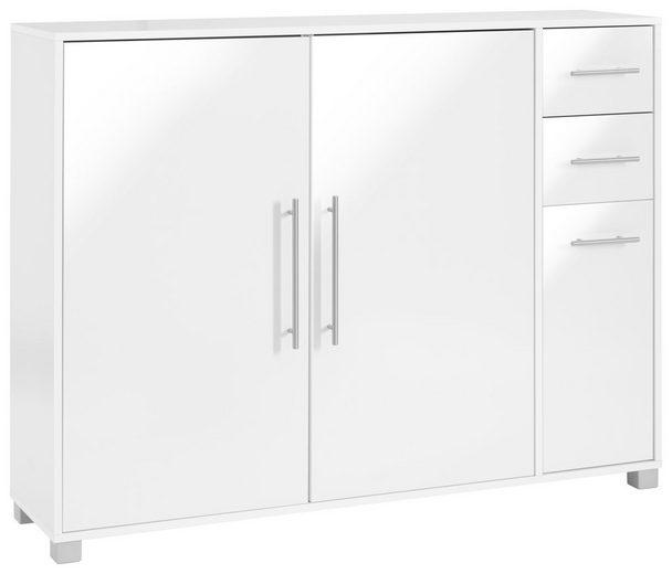 Schuhschrank, Schildmeyer, »Pisa«, mit 3 Türen und 2 Schubkästen