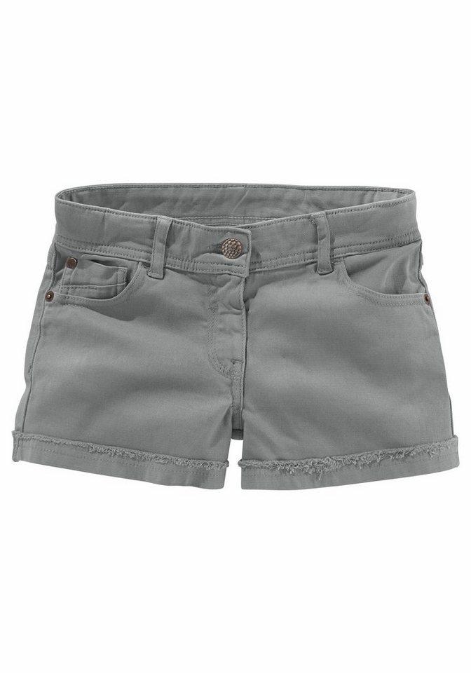 CFL Shorts 5-Pocket Stil in grau