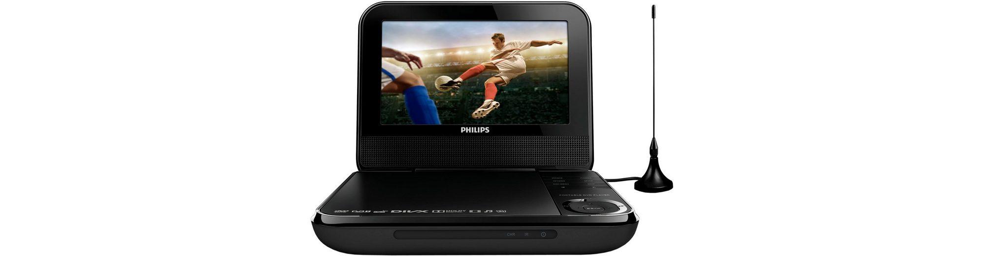 Philips PD7025/12 Portabler Fernseher mit DVD-Player
