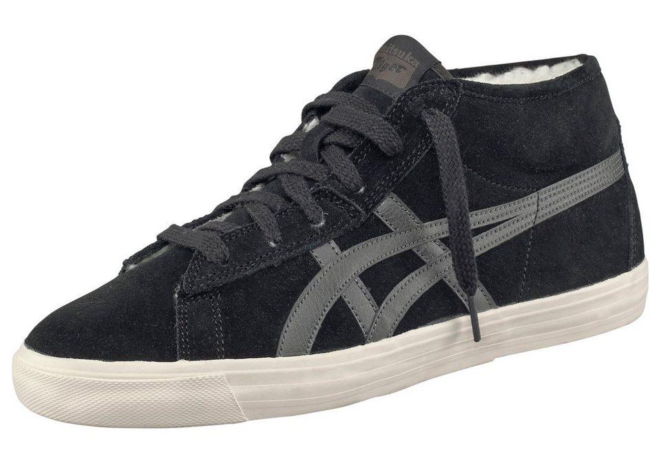 Onitsuka Tiger Fader Fur Sneaker in Schwarz