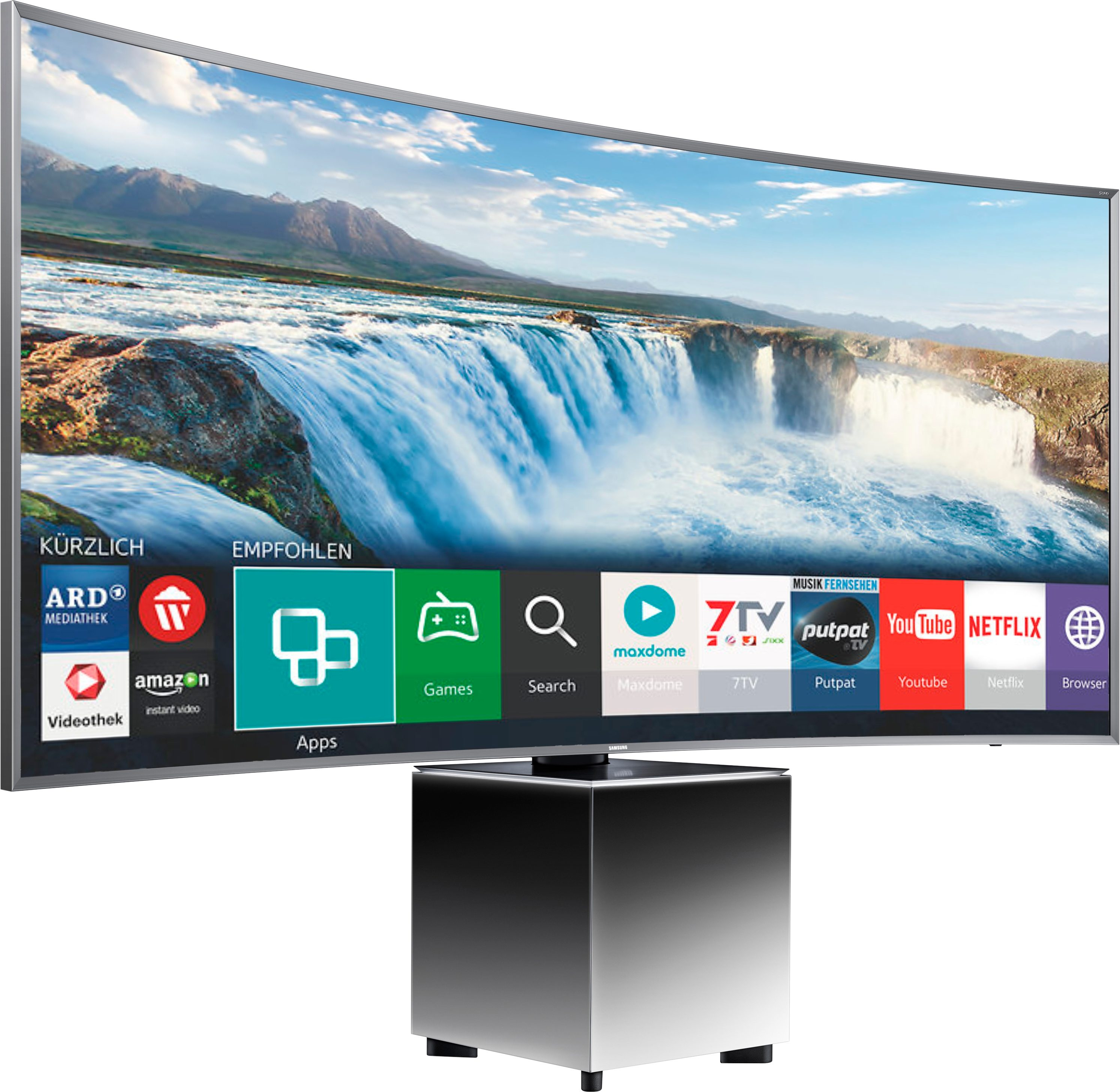 Samsung UE82S59, Curved-LED-Fernseher, 207 cm (82 Zoll), 2160p (SUHD), Smart-TV