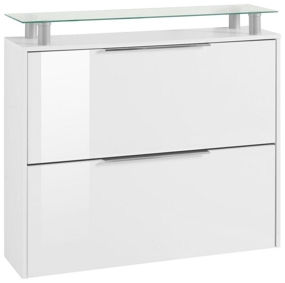 Borchardt Möbel Schuhschrank »Rena«, mit Glasablage online kaufen ...