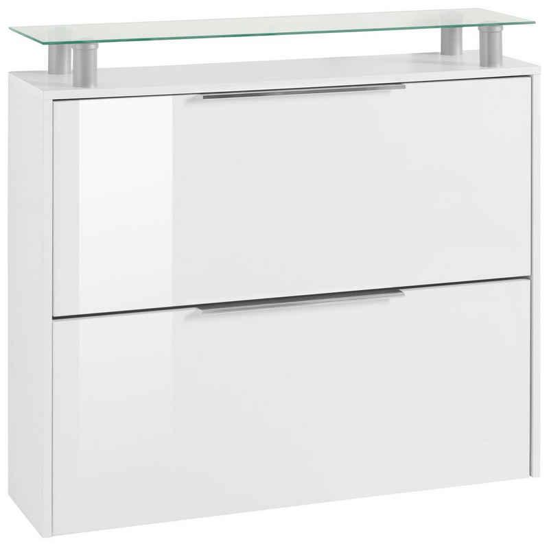 borchardt Möbel Schuhschrank »Rena« Hängeschuhschrank, mit Glasablage