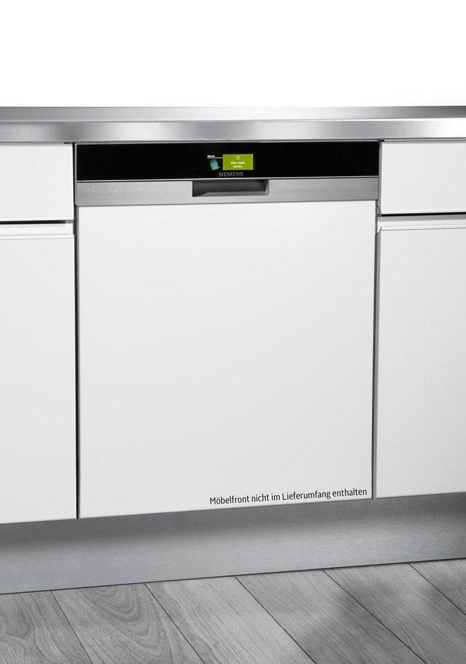 Siemens Spüler 60cm integriert Edelstahl SN578S03TE, A+++ , 7,5 Liter, 13 Maßgedecke in edelstahl