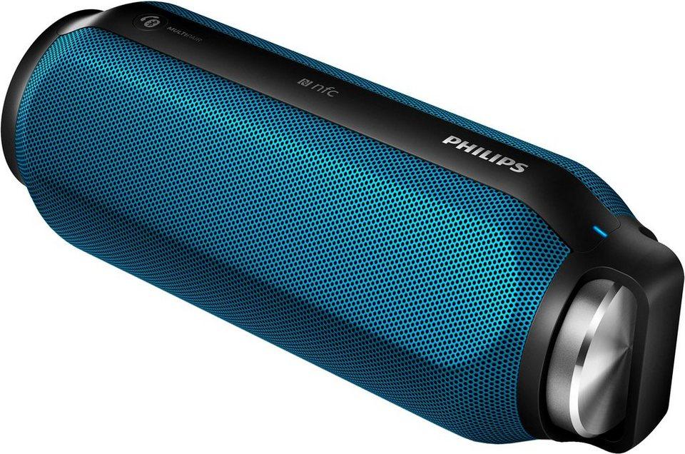 Philips BT6600 2.0 Bluetooth-Lautsprecher (NFC) in blau
