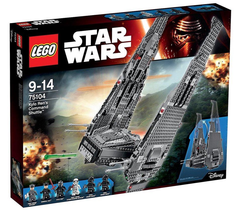 LEGO® Raumschiff (75104), »Star Wars™ Kylo ren's Command Shuttle™«