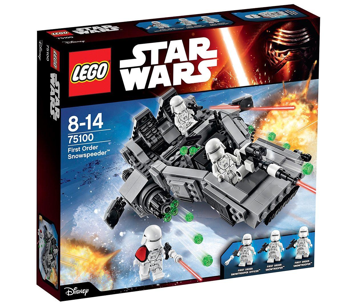 LEGO® Spielzeugpanzer mit Shooter (75100), »Star Wars™ First Order Snowspeeder™«