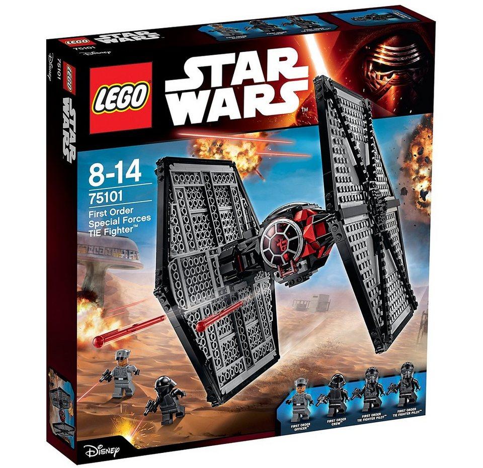 LEGO® Militär Raumschiff (75101), »Star Wars™ First Order Special Forces TIE Fighter™«