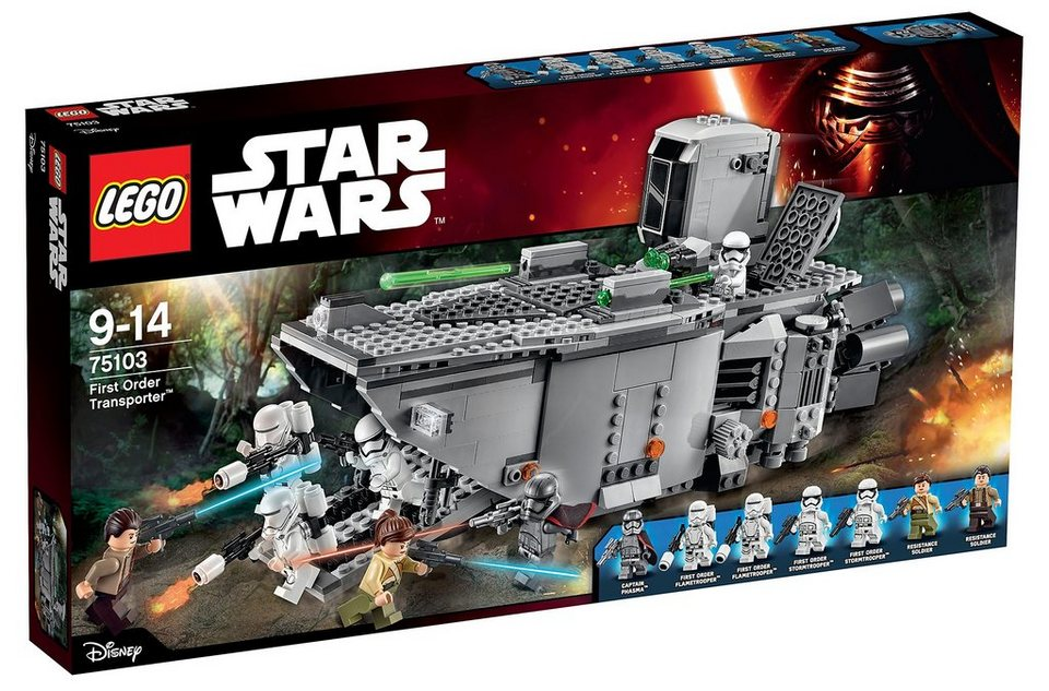 LEGO® Transporter mit Doppelshooter (75103), »Star Wars First Order Transporter™«