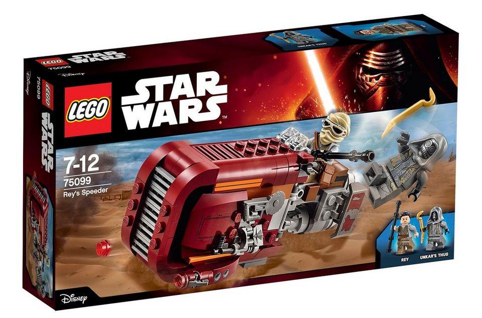 LEGO® Weltraumfahrzeug (75099), »Star Wars™ Rey's Speeder«