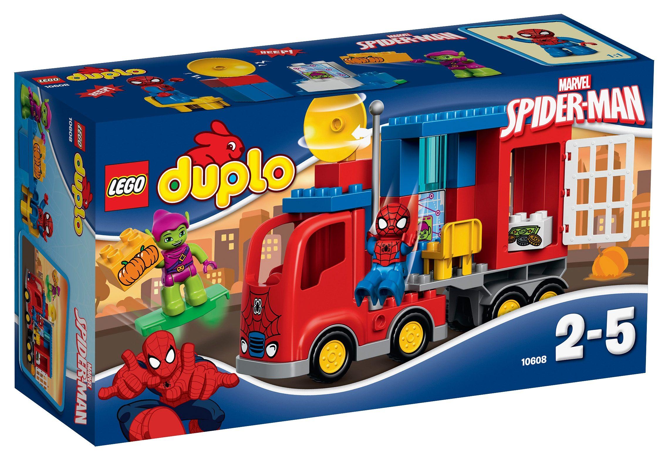 LEGO® Spider-Man-Truck (10608), »LEGO® DUPLO® Spider-Truck-Abenteuer«