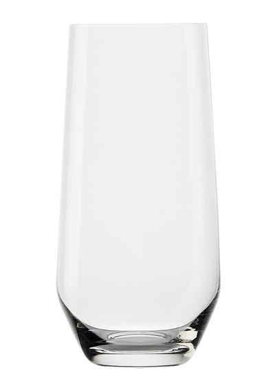 Stölzle Longdrinkglas »REVOLUTION«, Glas, Maschinen-Zieh-Verfahren, 6-teilig