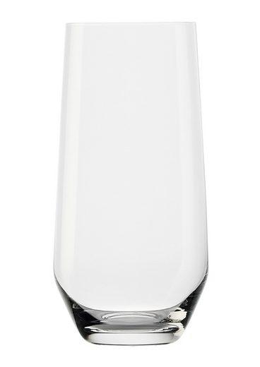 Stölzle Longdrinkglas »REVOLUTION« (6-tlg), Maschinen-Zieh-Verfahren