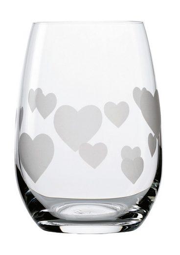 Stölzle Glas »L'Amour«, Kristallglas, 6-teilig