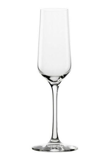 Stölzle Sektglas »REVOLUTION«, Glas, Maschinen-Zieh-Verfahren, 6-teilig