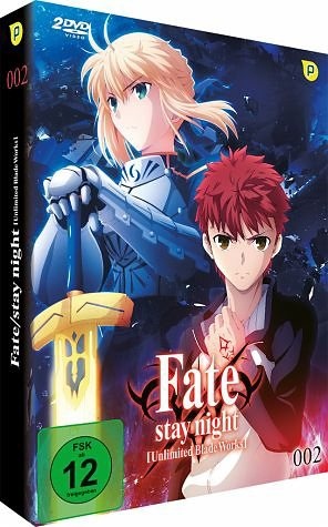 DVD »Fate/Stay Night: Unlimited Blade Works - Vol....«