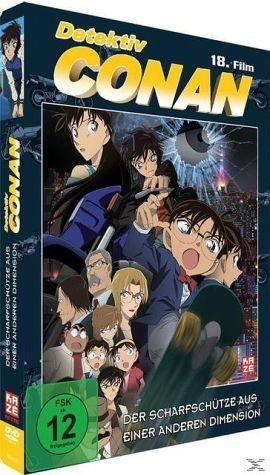 DVD »Detektiv Conan - 18. Film: Der Scharfschütze...«