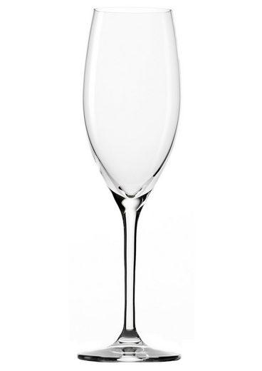 Stölzle Champagnerglas »CLASSIC long life« (6-tlg), Kristallglas