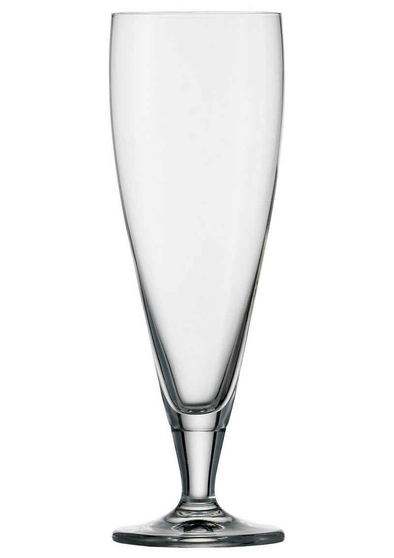 Stölzle Bierglas »CLASSIC long life«, Kristallglas, 6-teilig