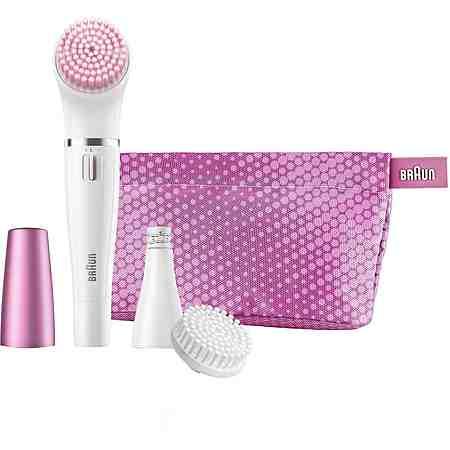 Mit unseren Gesichtsbürsten sorgen Sie für eine sanfte und porentiefe Reinigung und entfernen Make Up, Fett und Unreinheiten im Handumdrehen.
