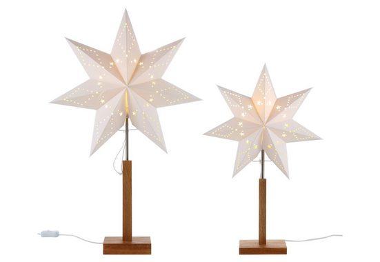 STAR TRADING Tischleuchte »Stern«, Standleuchter