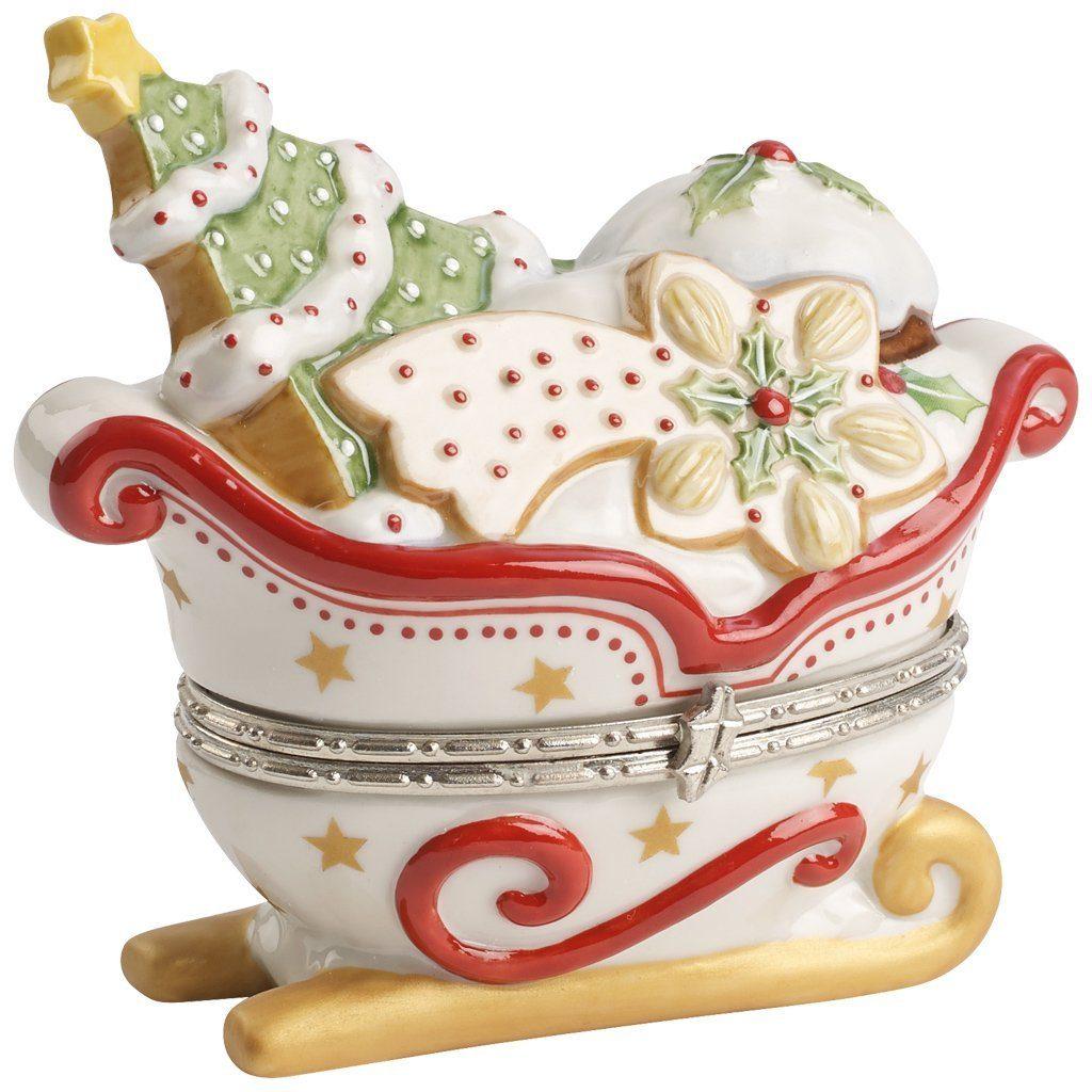 Villeroy & Boch Treat Schlitten weiß 9cm »Winter Bakery Decoration«