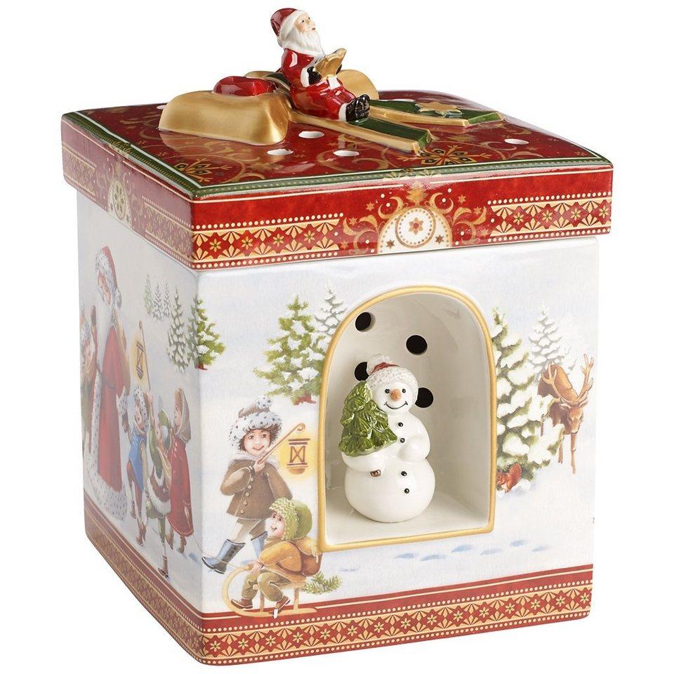 VILLEROY & BOCH Geschenkpaket groß eckig Spaziergan »Christmas Toys« in Dekoriert
