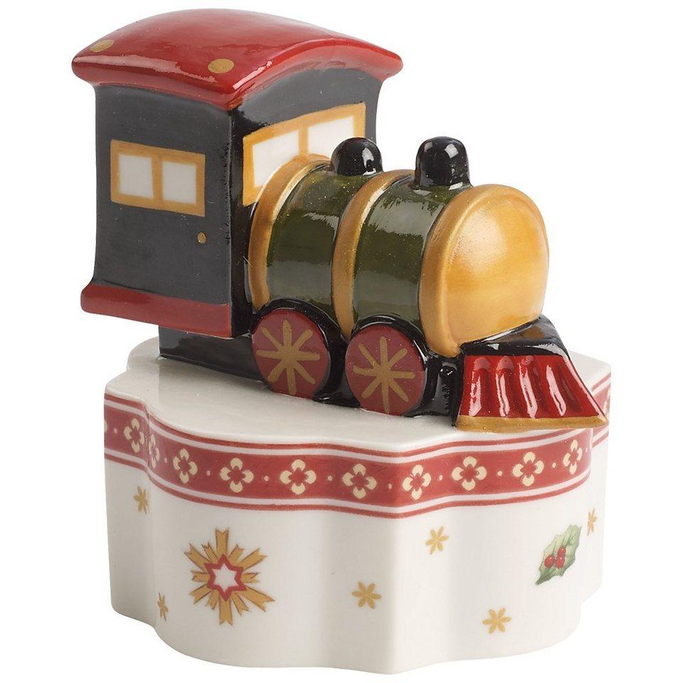 VILLEROY & BOCH Porzellanfigur Zug 7,5cm »Toy's Delight« in Dekoriert